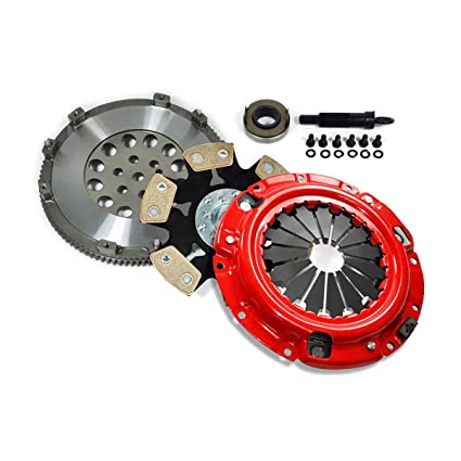 Amazon.com: EFT STAGE 4 CLUTCH KIT+FLYWHEEL ECLIPSE GSX TALON TSi LASER RS 4G63 TURBO 6-BOLT: Automotive