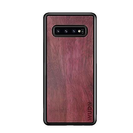 Amazon.com: Funda de madera compatible con Galaxy S10 Plus ...