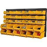 BiGDUG Plastic Wall Garage Storage Parts Bins Bin Kit Mega Deal DIY Wall Rack (2 x Plastic Bin Kit)