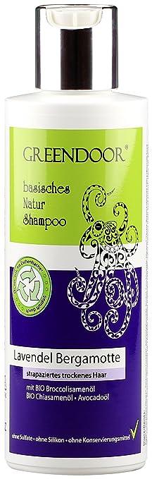 greendoor natur shampoo lavendel bergamotte mit bio lavendelà l