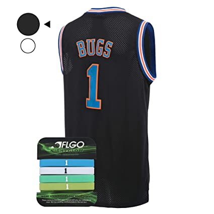 9d119233946 AFLGO Bug Space Jersey Basketball Jerseys Include Set Glow in The Dark  Wristbands S-XXL