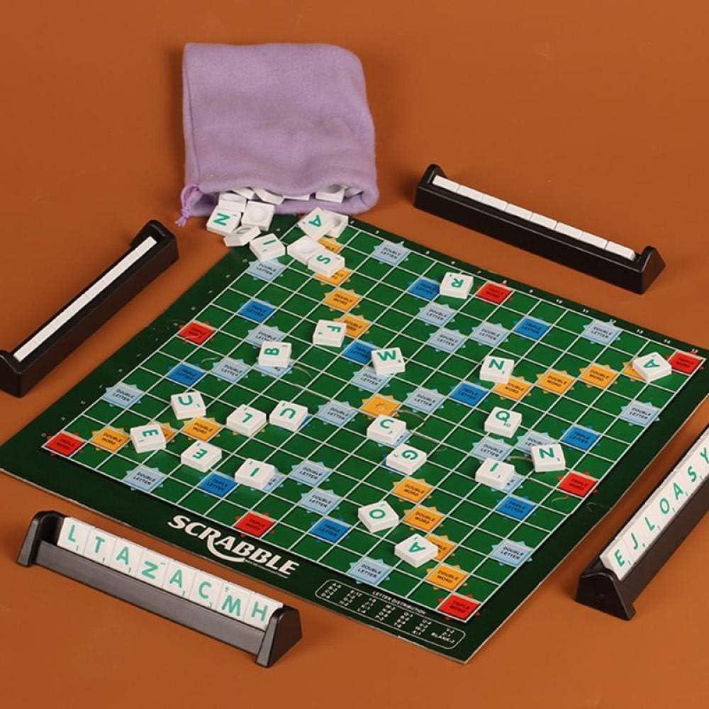 smilecstar Juego de Mesa Original de Scrabble-Green-A5: Amazon.es: Hogar
