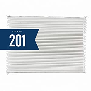 Aprilaire 201 Replacement Filter for Aprilaire Whole House Air Purifier Models: 2200, 2250, Space Gard 2200, MERV 10 (Pack of 4)
