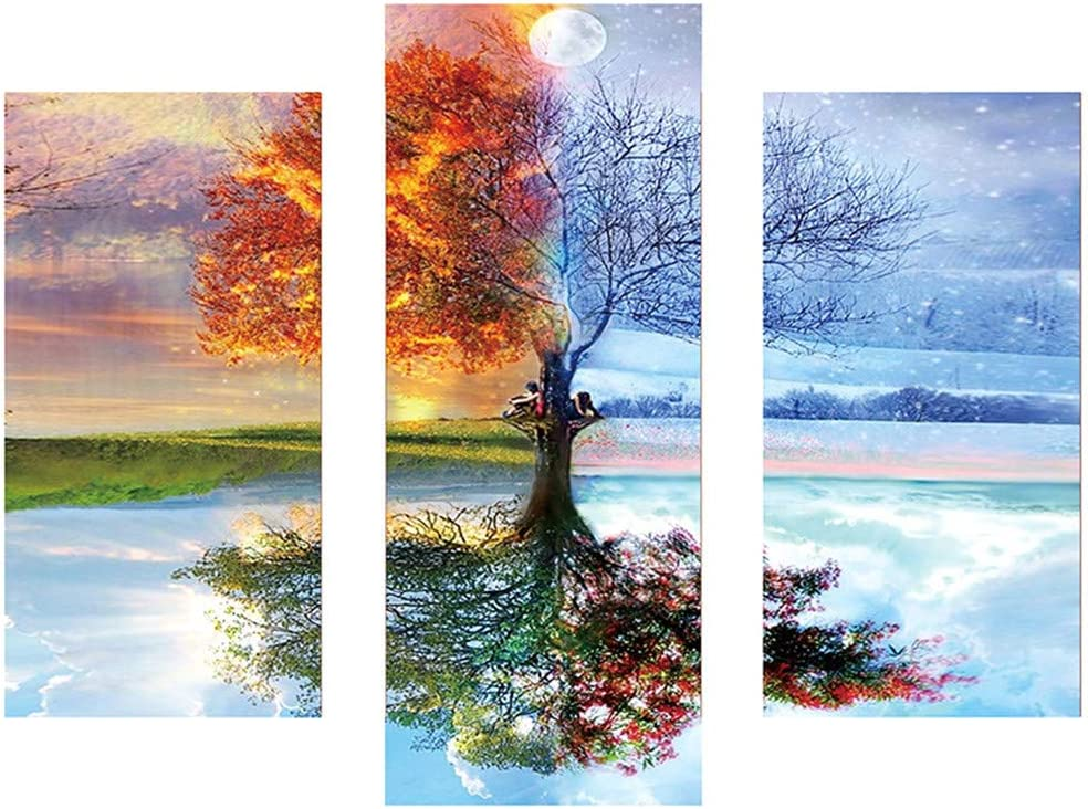 Crystal Rhinestone Diamond Embroidery Paintings Pictures Arts Cross Crafts Stitch Kit Home Decor C Staron DIY 5D Full Diamond Painting by Number Kits Full Drill Splicing Painting