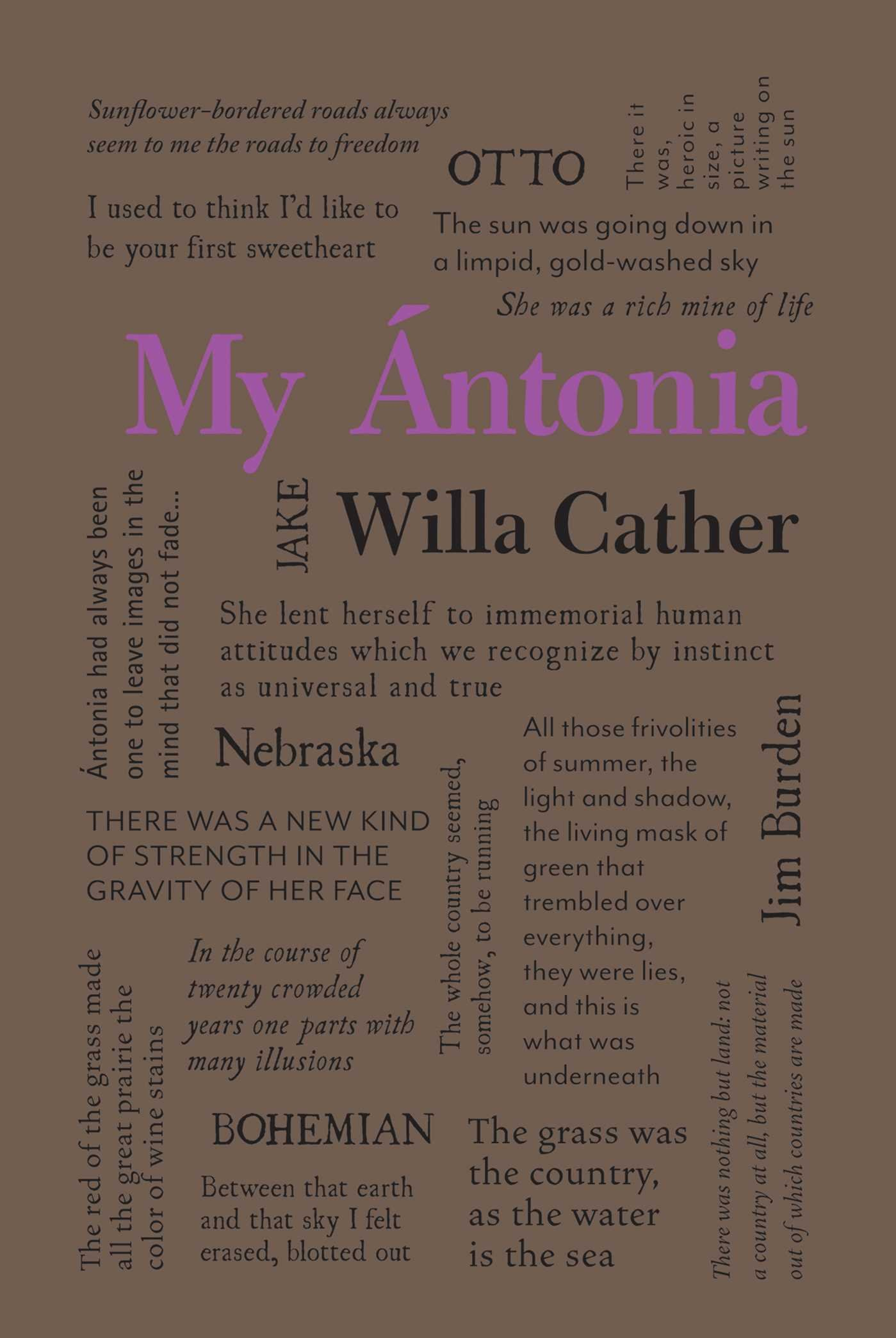My Ántonia (Word Cloud Classics)