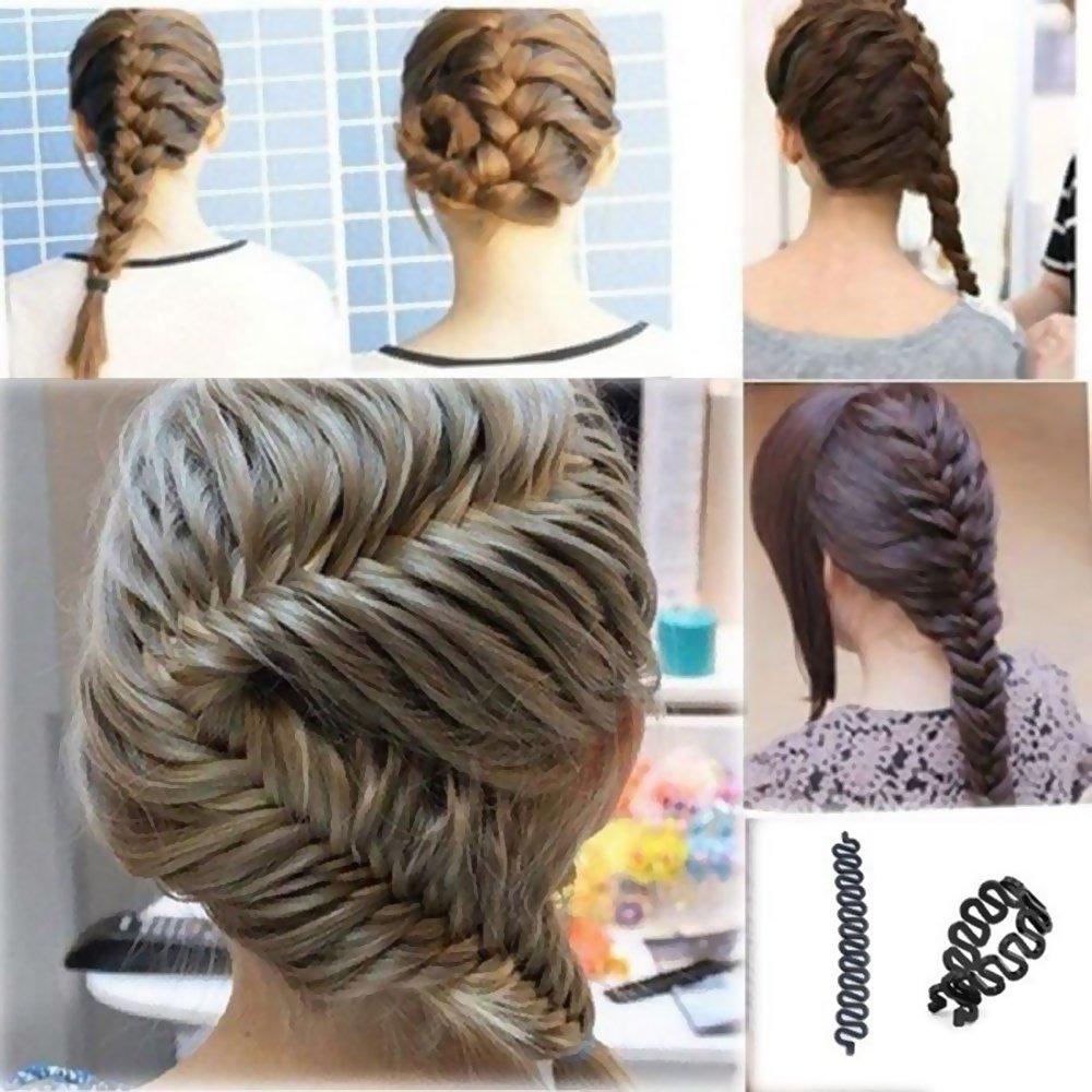 EYX Formula Magic Hair Braider French Twist Styling Tool Maker
