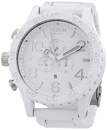 lyst color strap accessories product white watches mens armani silicone exchange watch gallery chronograph ax no