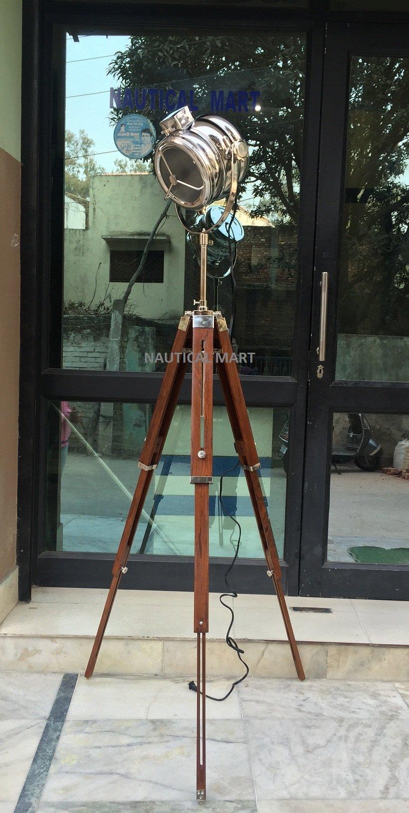 NAUTICALMART VINTAGE BRITISH MOVIE STUDIO FLOOR LAMP HOME DECOR LIGHT