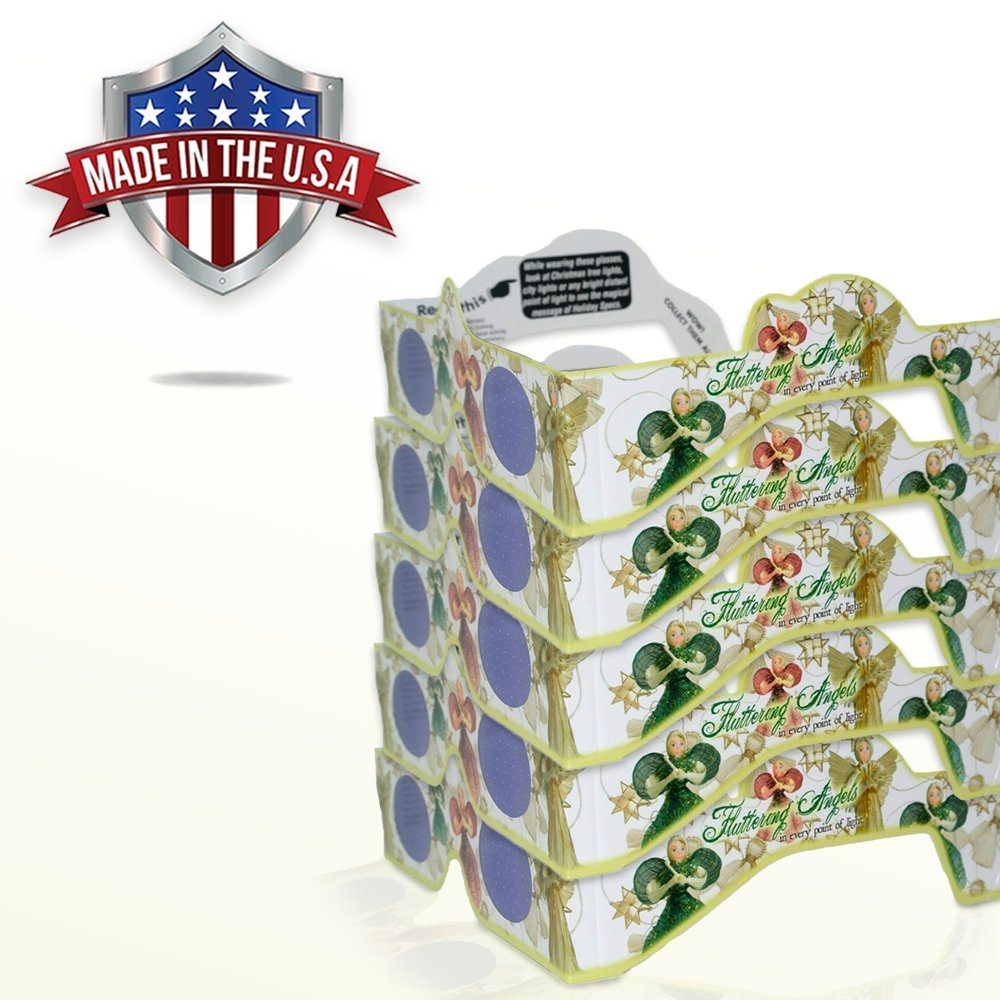 Expo Stands Lightsee : Amazon.com: 3d christmas glasses 5 pack a fun christmas