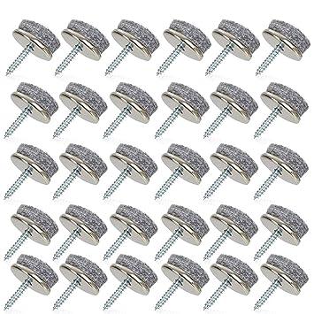 almohadillas de fieltro para muebles almohadillas Dia 22mm ...
