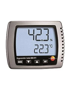 Testo - Humidímetro y medidor de temperatura: Amazon.es: Industria, empresas y ciencia