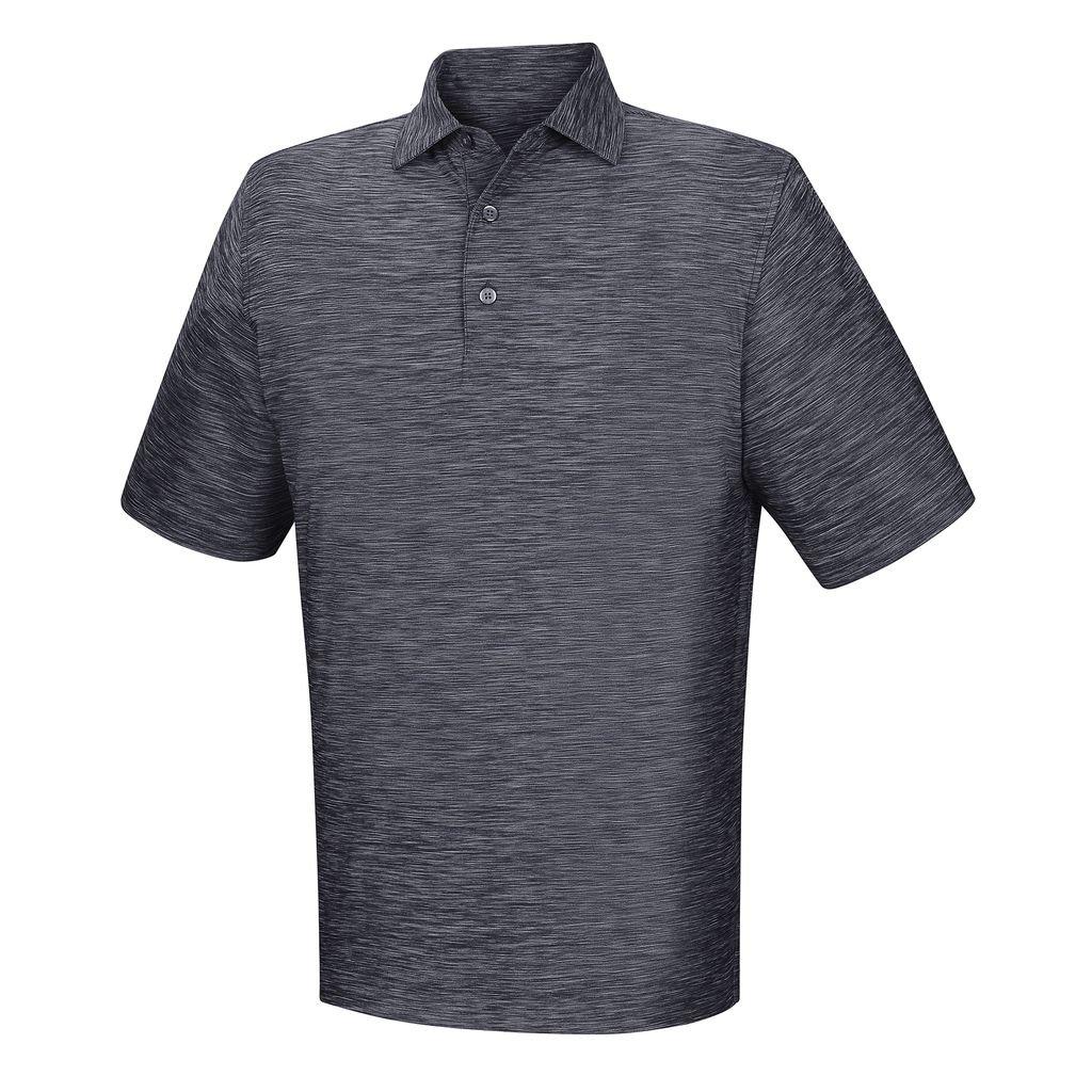 メンズFootjoy Lisle Space Dyed Self Collarシャツ B01KU5GKJ4 Medium ネイビー ネイビー Medium
