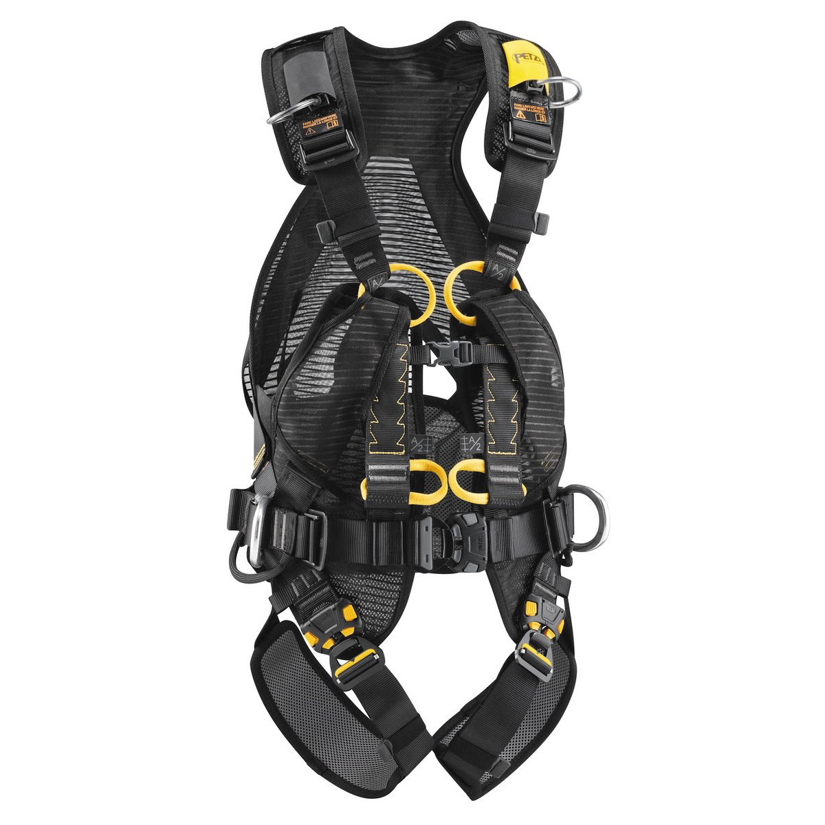 Amazon.com : Petzl VOLT full harness with OXAN TRIACT-LOCK ...