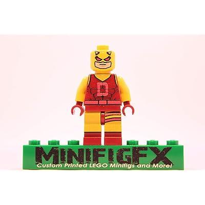 LEGO Classic Daredevil Minifig Marvel Super Hero Matt Murdock: Toys & Games