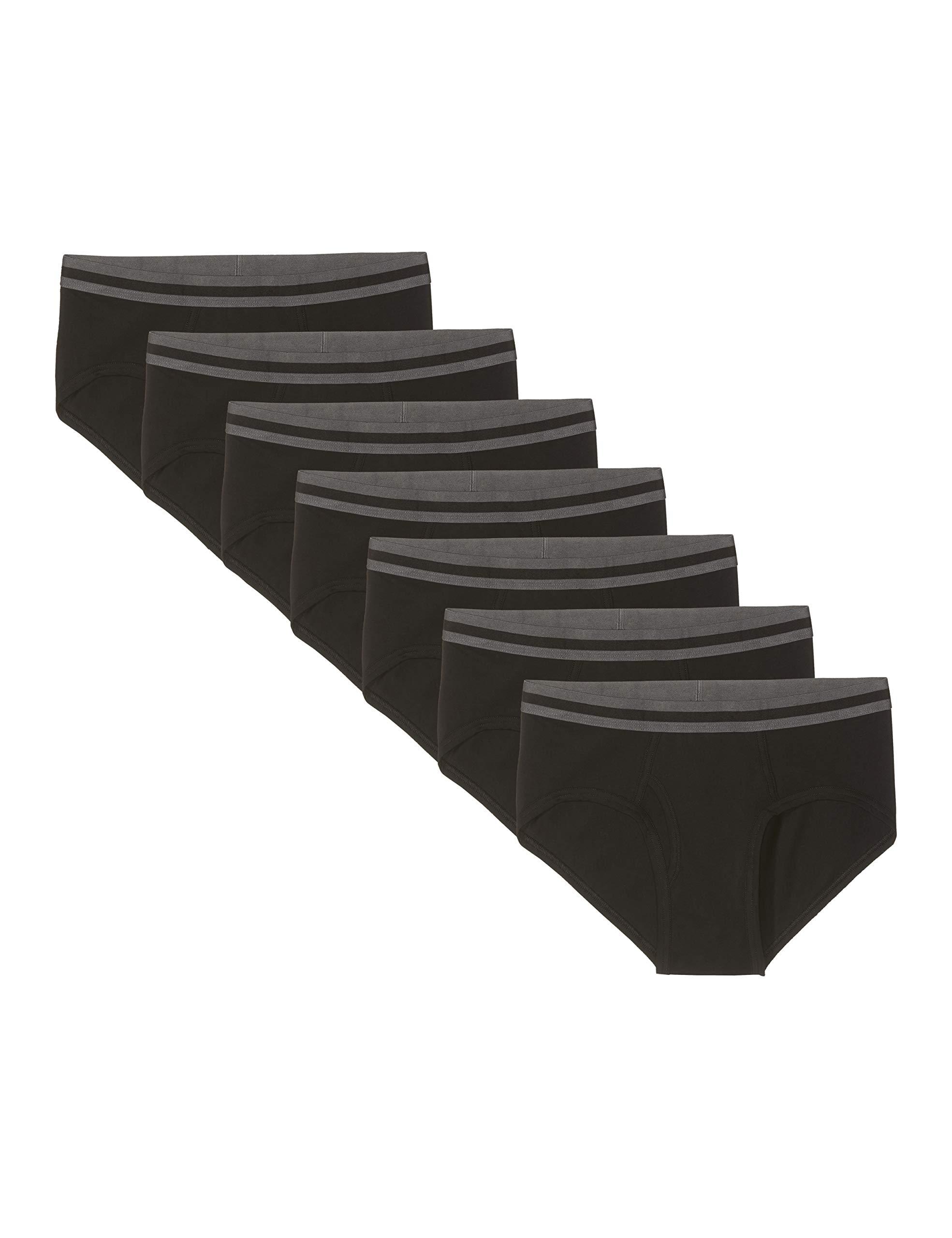 Amazon Brand - find. Men's Cotton Stretch Briefs, Pack of 3/Pack of 5/Pack of 7/Pack of 10