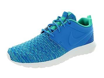 newest 57976 d7bf3 NIKE Roshe NM Flyknit Premium Schuhe Herren Sneaker Turnschuhe Blau 746825  400