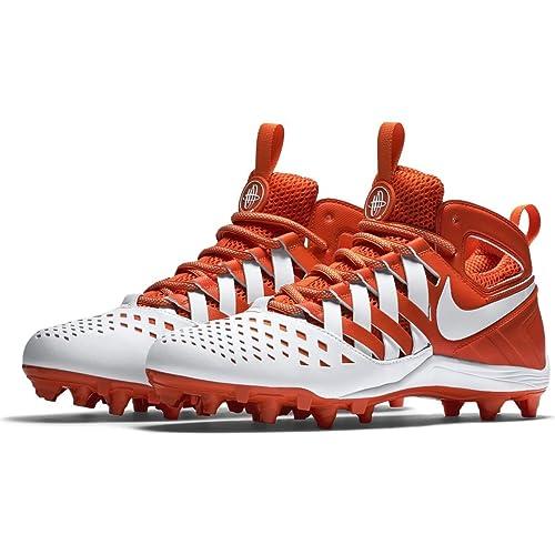 Maledetto Espressione Bagnato  Buy Nike Huarache V Elite Creators Pack Lacrosse Football Cleats Shoes  Orange White Mens Size 11 at Amazon.in
