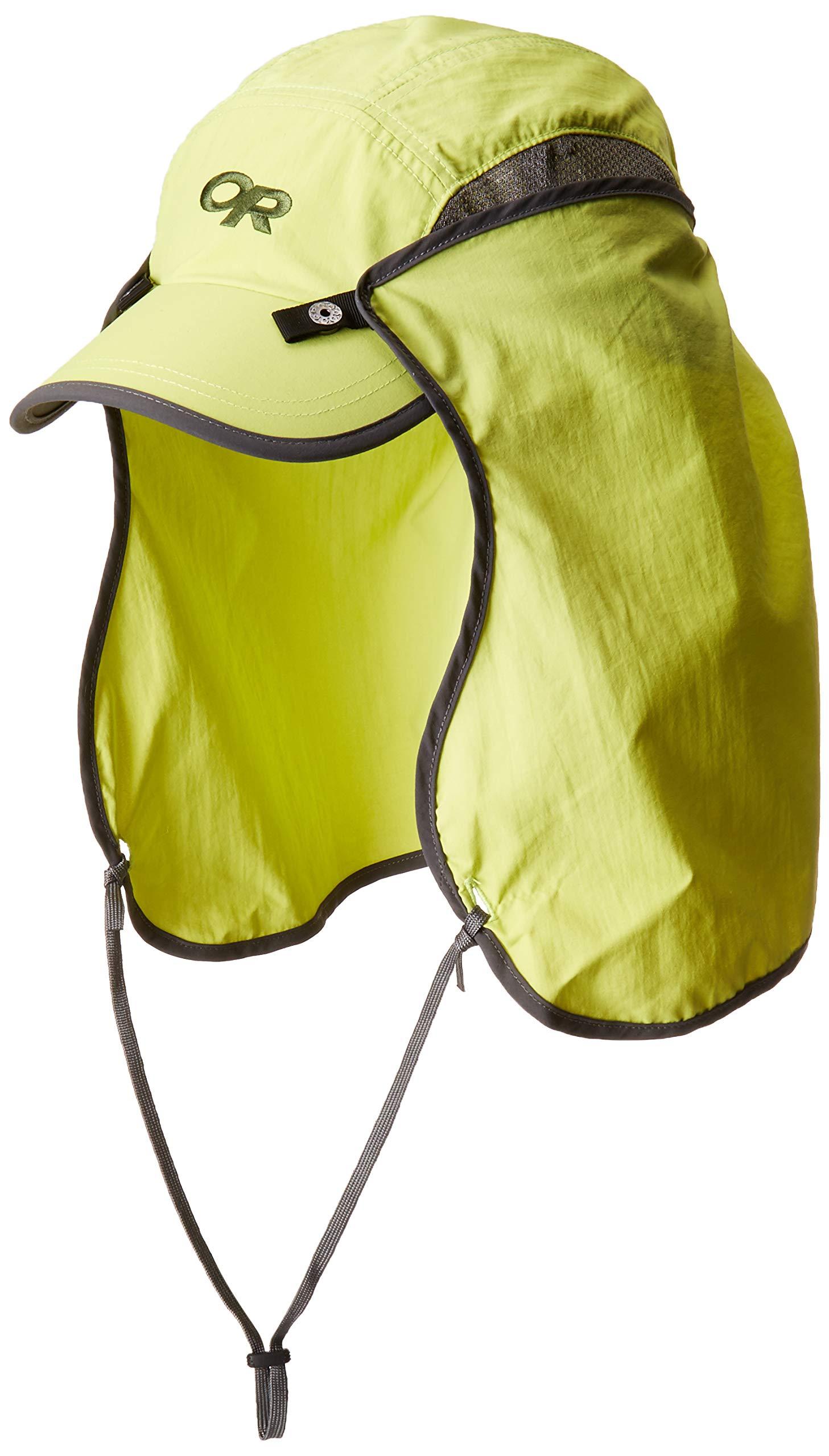 Outdoor Research Sun Runner Cap, Chartreuse, Medium
