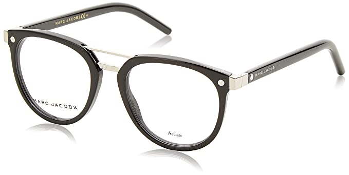 afbf6b0dc45 Image Unavailable. Image not available for. Color  Marc Jacobs Marc 19 0807  Black Eyeglasses