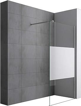 Sogood Lujosa Mampara/Panel de ducha de vidrio transparente, diseño Bremen2MS 80x200 Estabilizador de cristal auténtico de 10 mm Cristal de seguridad templado Nano - revestimiento incluido: Amazon.es: Bricolaje y herramientas