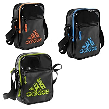 c62150bf5a01 Adidas Leisure Organizer Bag with Shoulder Strap Black - Yellow   Amazon.co.uk  Sports   Outdoors