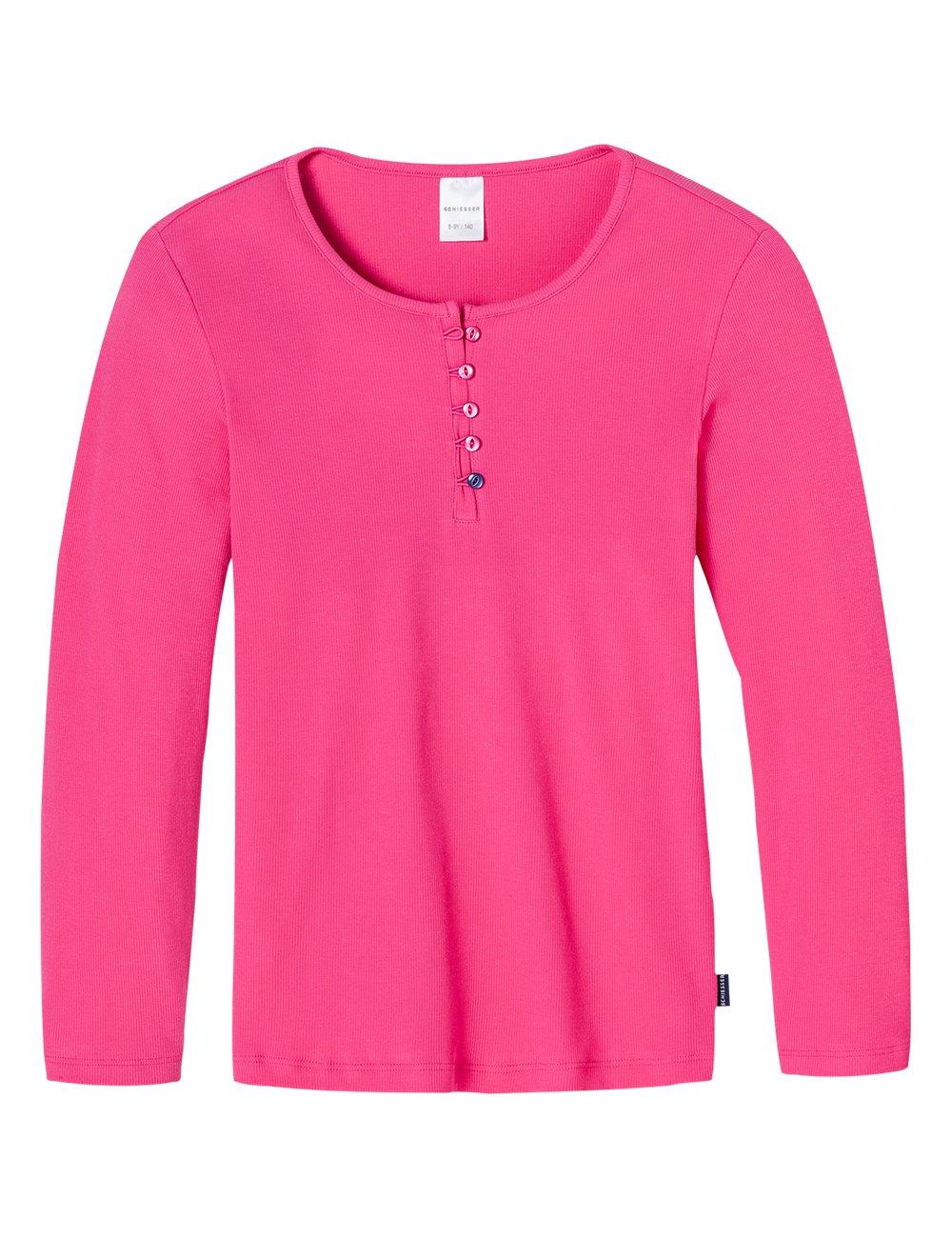 Schiesser - Shirt 1/1, Pajama camicia da bambine e ragazze 146019
