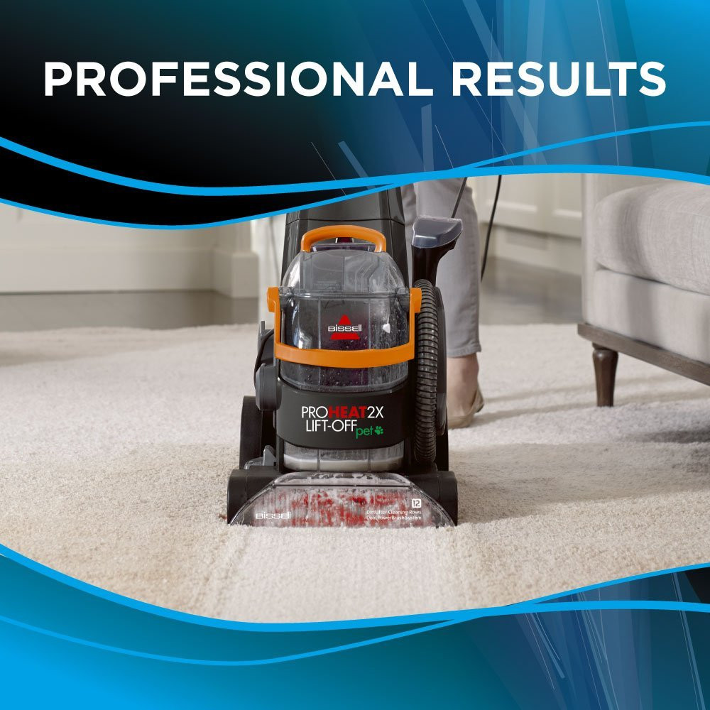 Bissell ProHeat 2X Lift Off Pet 15651 Carpet Steamers Industrial ...