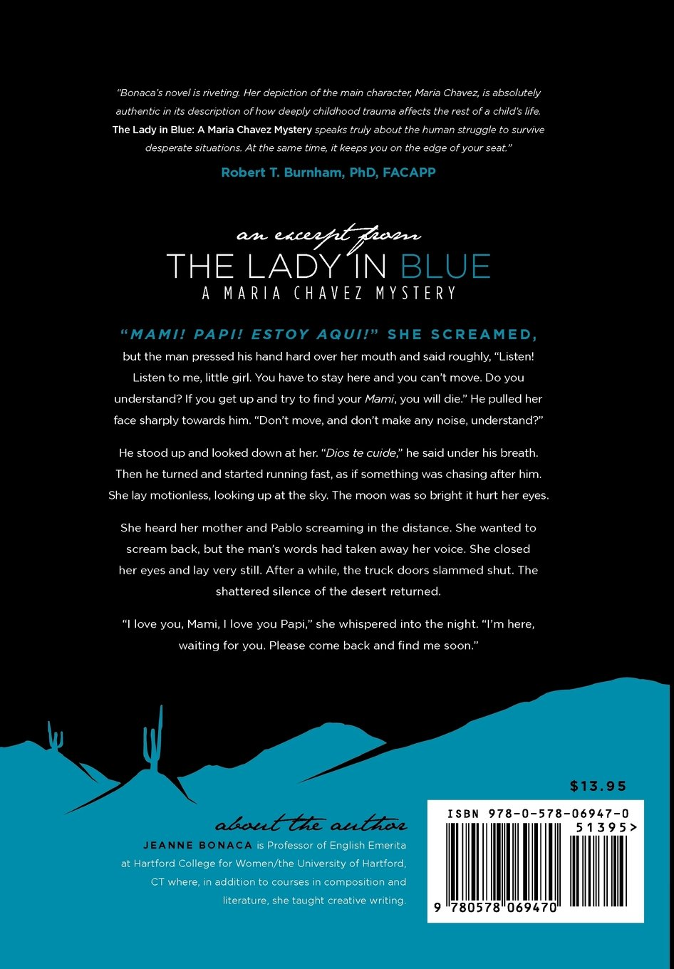 The Lady in Blue: A Maria Chavez Mystery