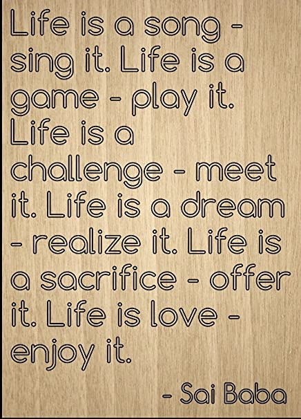 Amazoncom Life Is A Song Sing It Life Is A Game Quote By