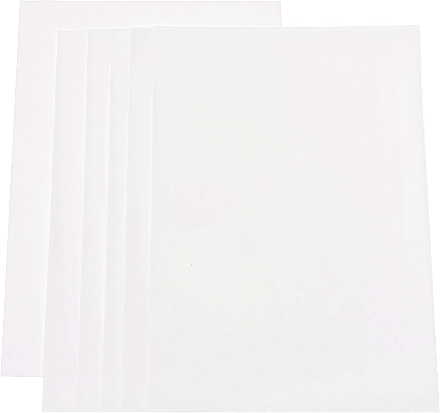 Bulk 100 Pcs A4 Size 8-1//4 x 11-3//4 KARRES Vellum Paper White Translucent Art Sketching and Tracing Paper