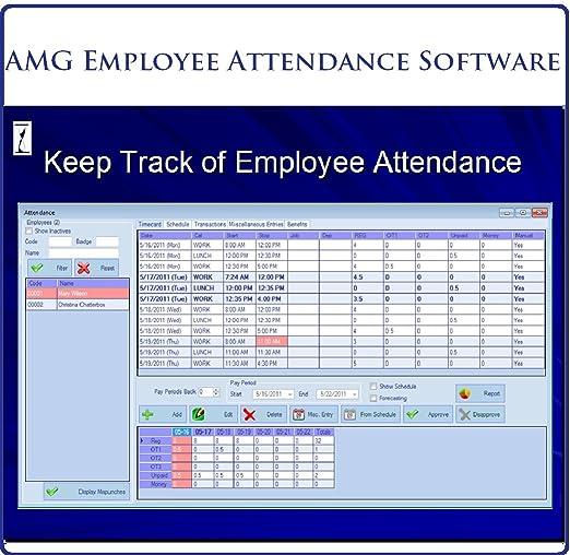track employee attendance