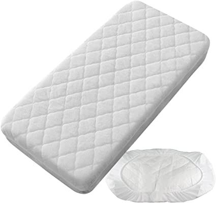 PEKITAS Protector Colchón/Cubre colchón Impermeable Acolchado - Minicuna 50 X 80 cm Fabricado En España: Amazon.es: Bebé