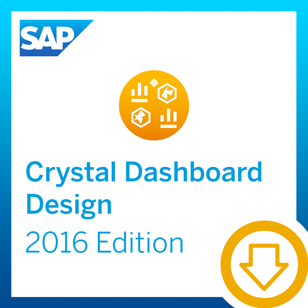 SAP Crystal Dashboard Design,  2016 [Download] by SAP
