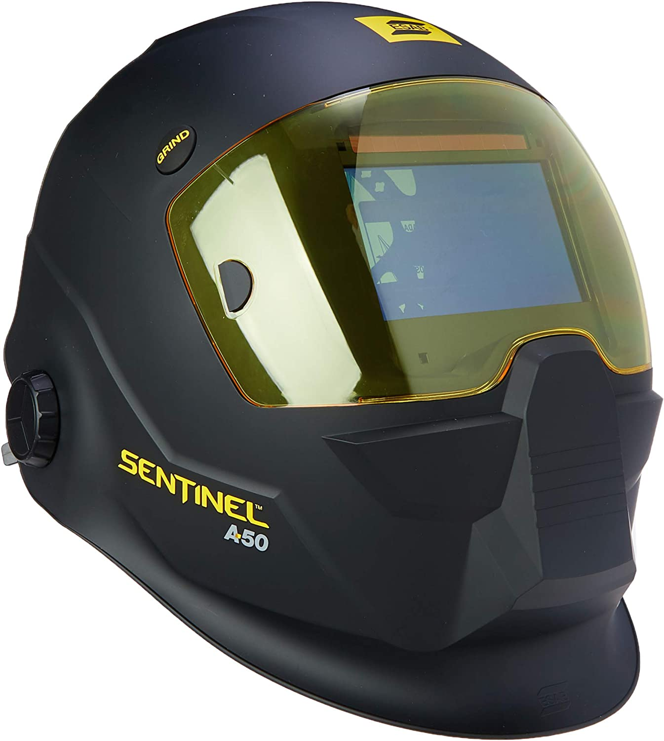 Top design with high impact resistance: ESAB 0700000800 Sentinel Welding Helmet