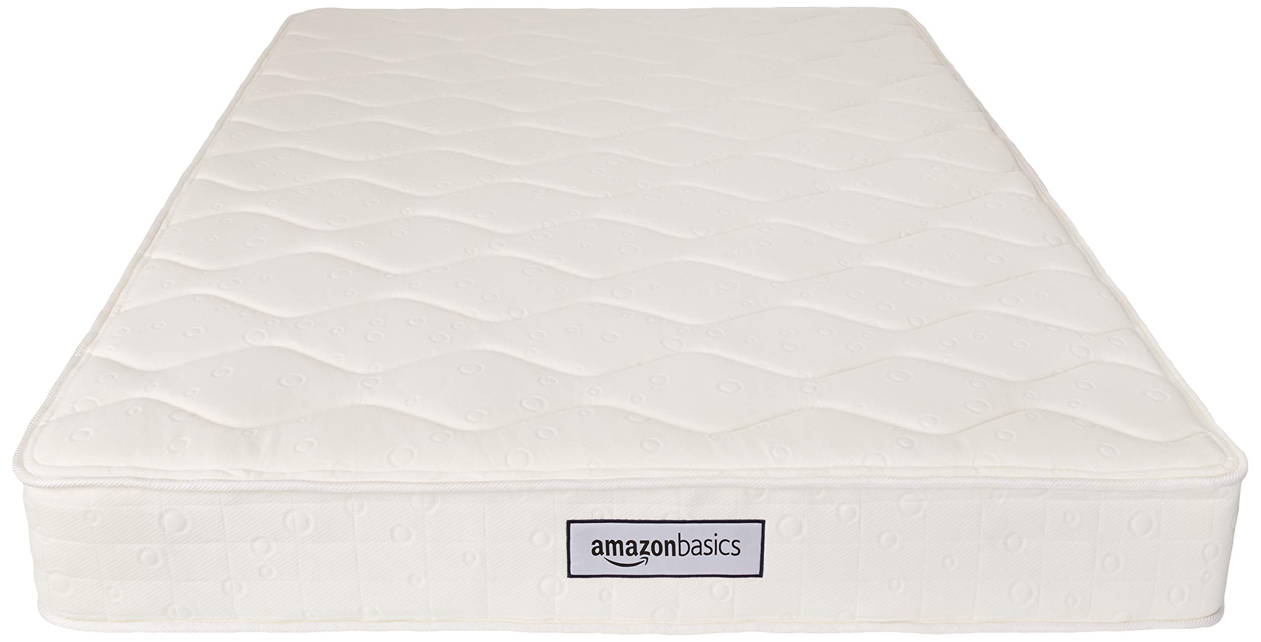 AmazonBasics Coil Mattress in a Box - Features Individual Pocket Spring for Motion Isolation, High-Density CertiPUR-US Certified Foam Layer - 8-Inch, Queen by AmazonBasics (Image #5)