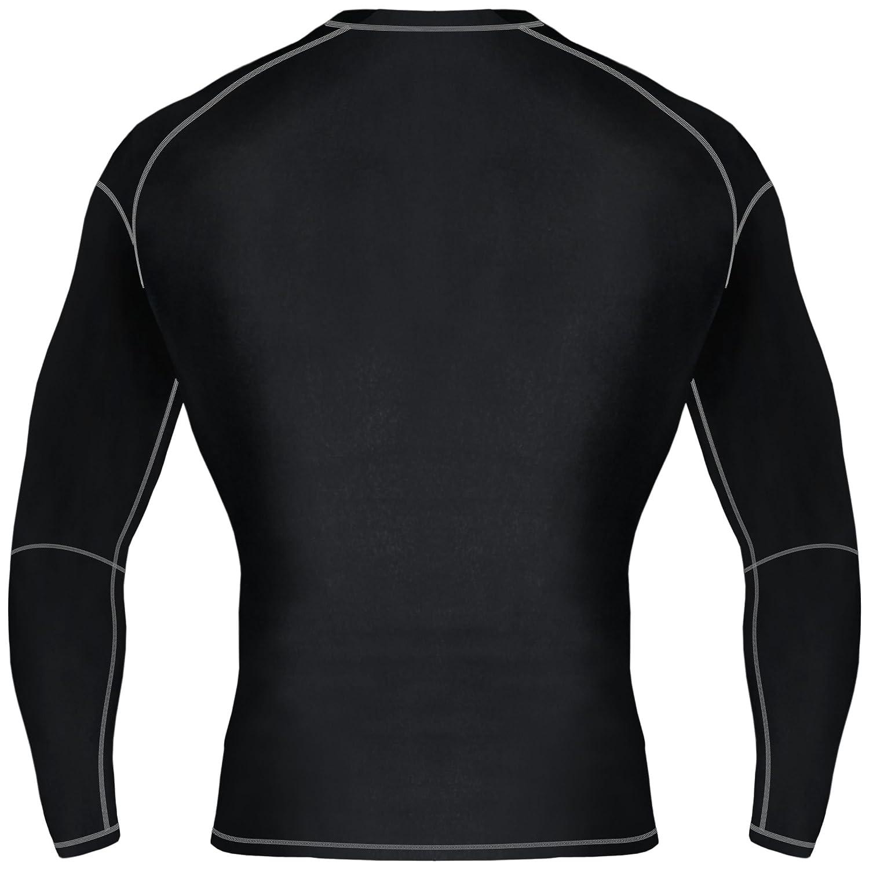 Crew Neck Mytra Fusion Mens /& Boys PowerLayer Compression Base Layer Baselayer Top Long Sleeve Under Shirt Mens Lifa Dry Stripe Crew Mens HeatGear Long Sleeve Compression Top