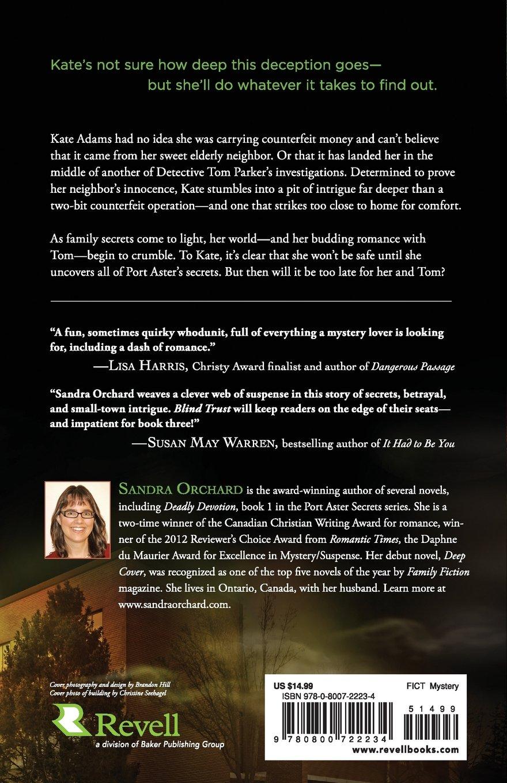 Blind Trust: A Novel (port Aster Secrets) (volume 2): Sandra Orchard:  9780800722234: Amazon: Books