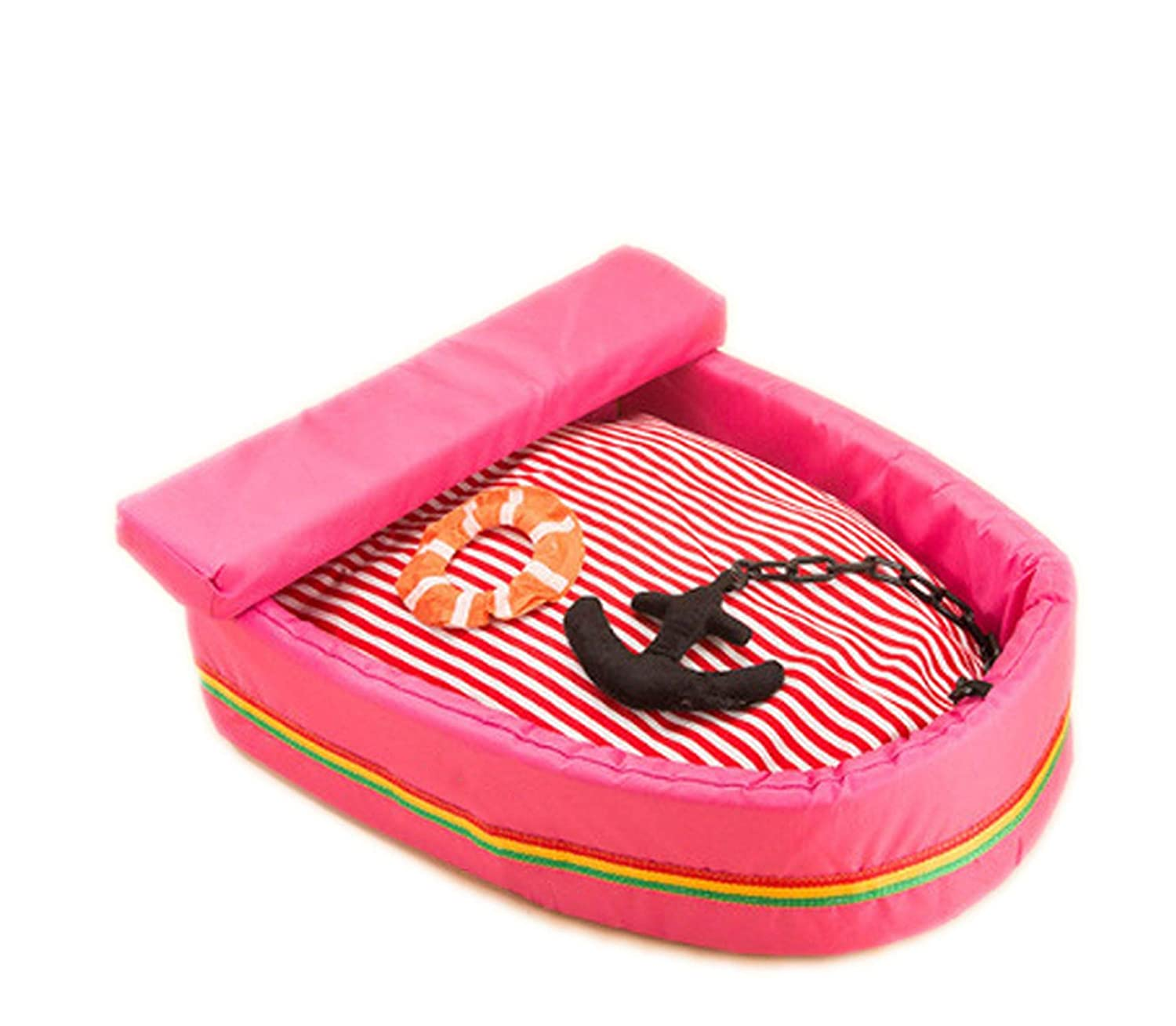Pink L 705513cm pink L 705513cm Pet Cushion Dog Bed House Cat Bed Cushion Kennel Doggy Puppy Sofa Sleeping Bag Warm,Pink,L 70  55  13cm