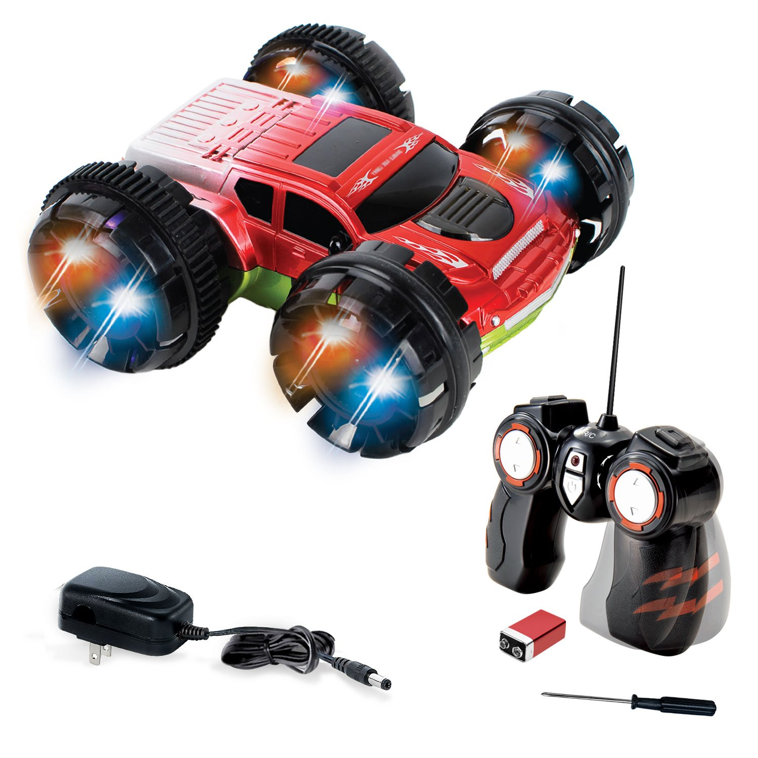 Kidirace Stunt Car 360 Degree Spinning And Flips Double Sided Remote Control .. 12