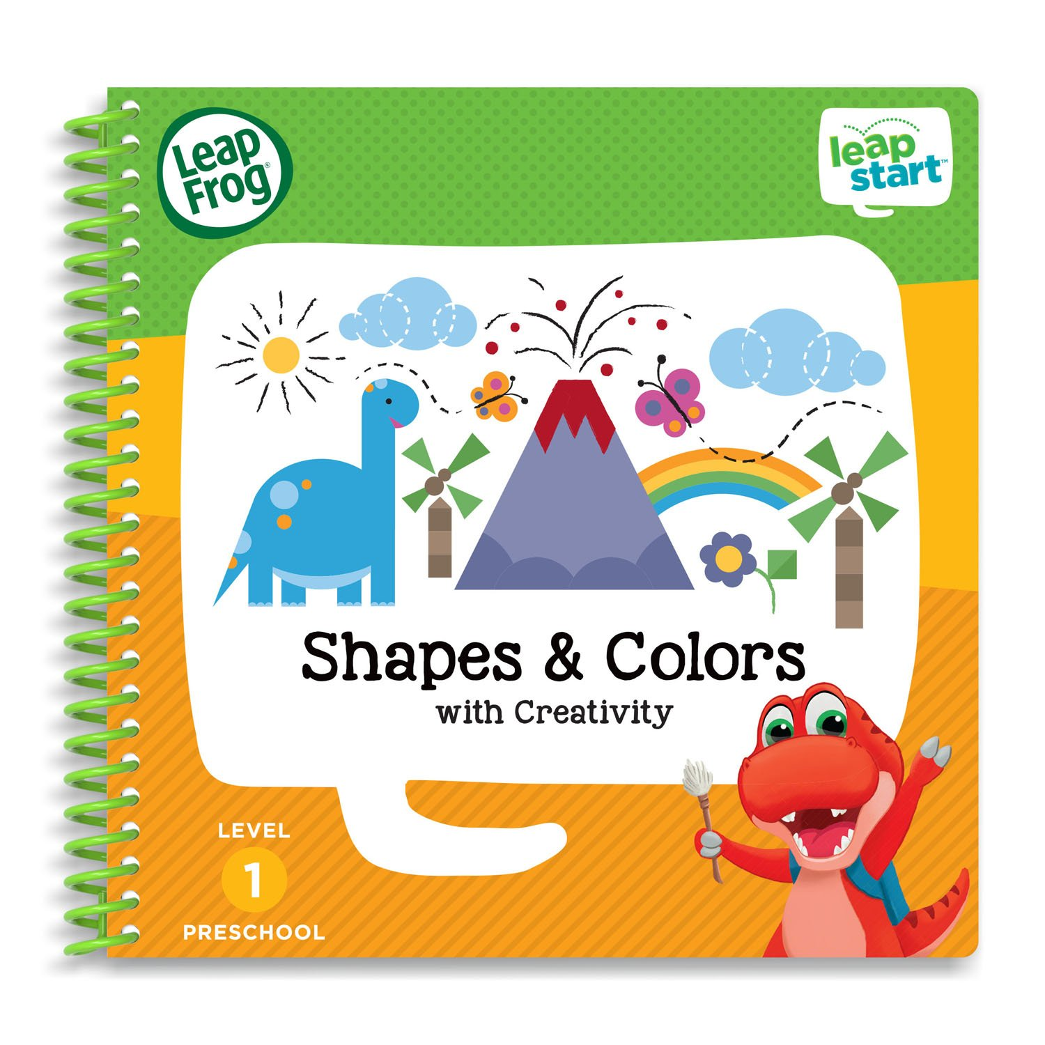amazoncom leapfrog leapstart level 1 preschool activity book bundle with alphabet adventures shapes and colors toys games - Preschool Books About Colors
