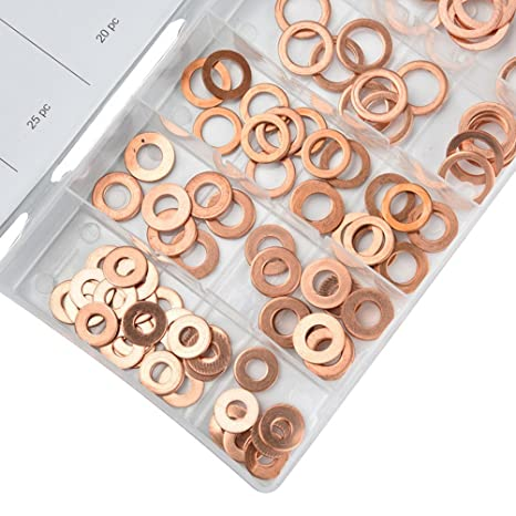 M12 Copper Washers 10pcs M8 M6 M14 Free Shipping M10