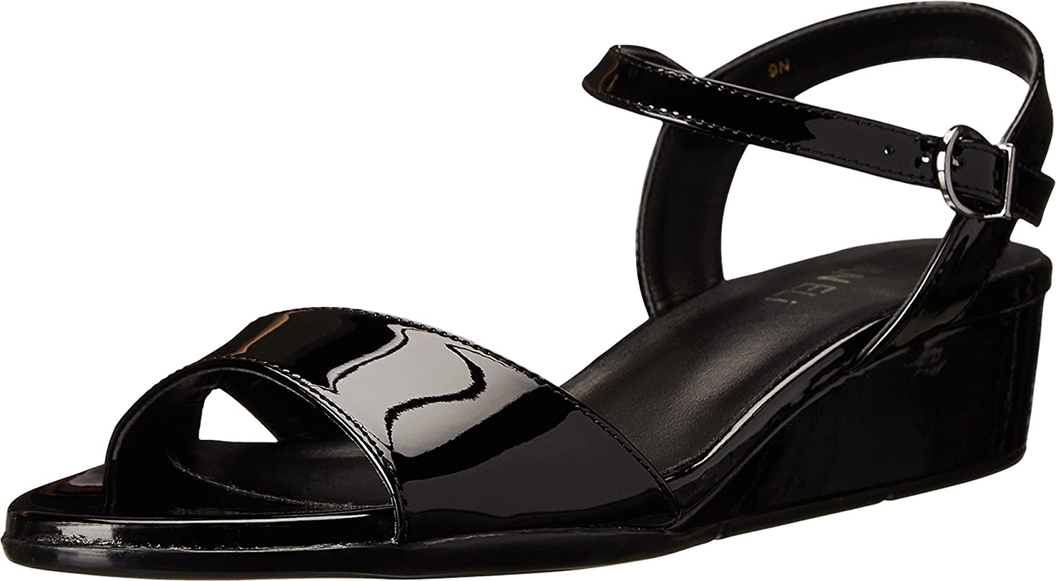Womens Sandals Vaneli Borea Black Patent