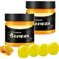 Bijenwas Polijstwas Voor Meubels Wood Seasoning Beeswax, Bijenwas Voor Houten Tafels, Stoelen, Kasten, Polijstpasta…