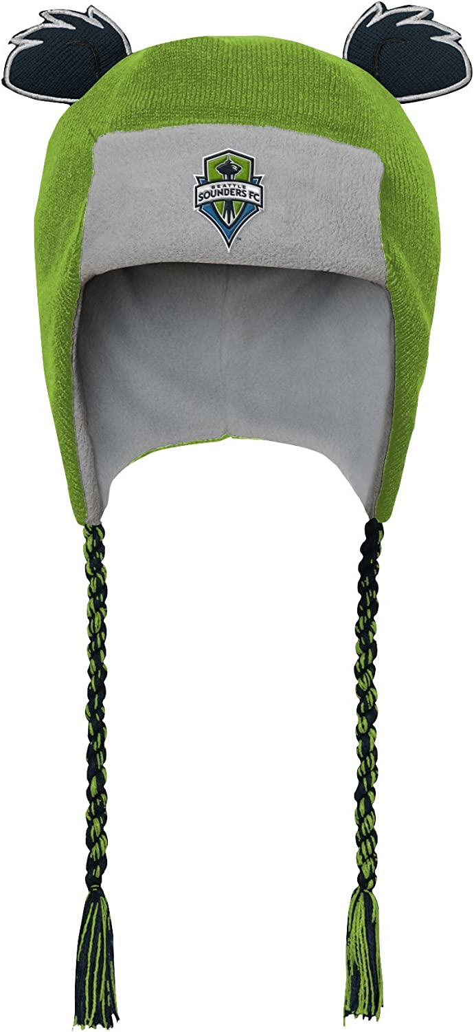 MLS by Outerstuff Toddler Ears Trooped Hat Black 1 Size