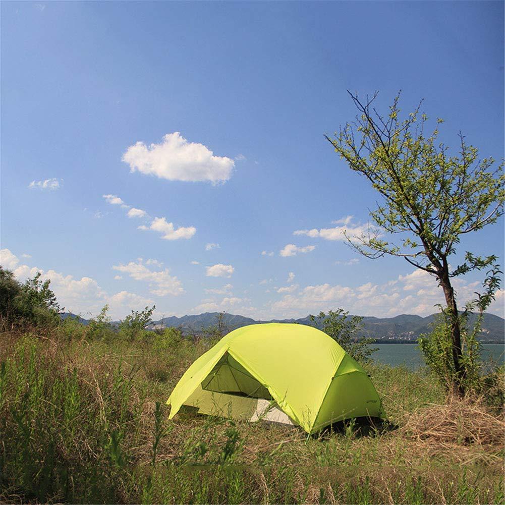 Zelt, 2 Personen Camping Zelte im Freien Ultralight Doppel-Ebene wasserdicht Doppel-Ebene Ultralight 3 Jahreszeiten Wanderreisevel e6cb06
