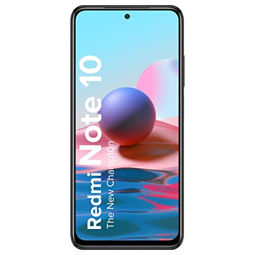 Redmi Note 10 (Shadow Black, 6GB RAM, 128GB Storage) - Super Amoled Display   48MP Sony Sensor IMX582   Snapdragon 678 Processor