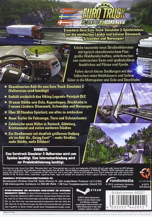 Euro Truck Simulator 2: Scandinavia [Importación alemana]: Amazon.es: Videojuegos