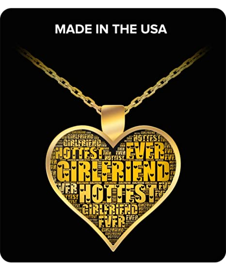 amazon com girlfriend gifts from boyfriend necklace for birthday