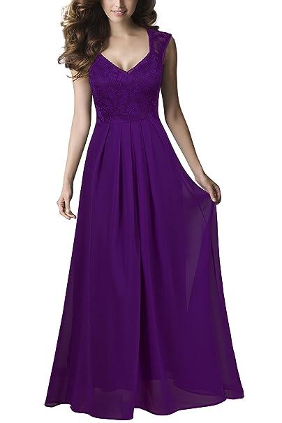 The 8 best long purple bridesmaid dresses under 100