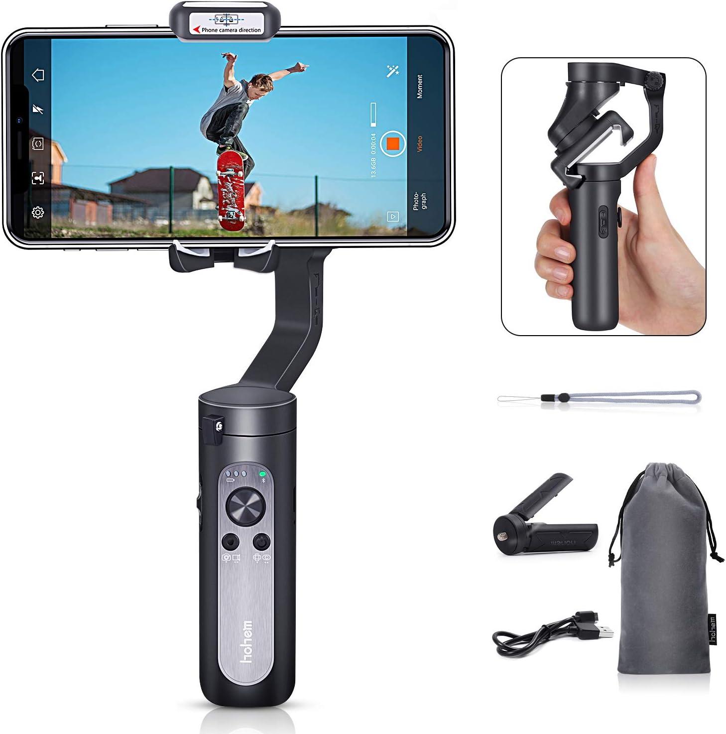Hohem 2019 Smartphone Gimbal Stabilizer Gimble de Mano de 3 Ejes ...